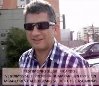 Testimonio Sr. Ricardo